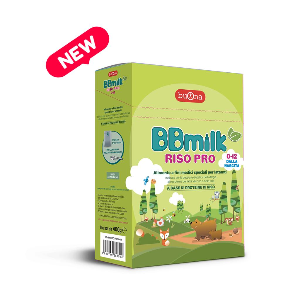 BUONA BBmilk RISO PRO 0-12 mesi